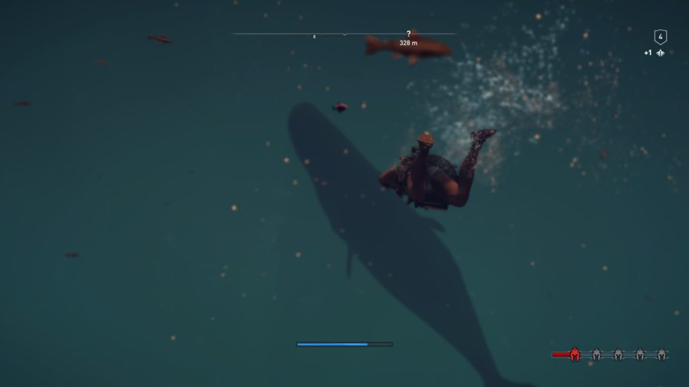 Assassin's Creed Odyssey, swim with whales