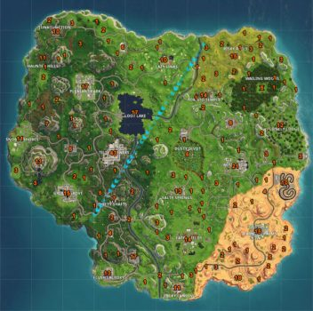 Fortnite Best Chest Spawn Locations