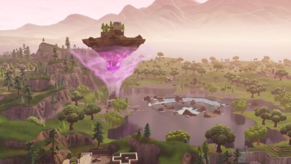 Fortnite island, cube, fortnite season 6