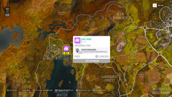 Forza Horizon 4 Houses: All House Locations & How to Buy Houses