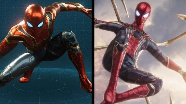 Iron Spider Suit - Avengers: Infinity War (2018)