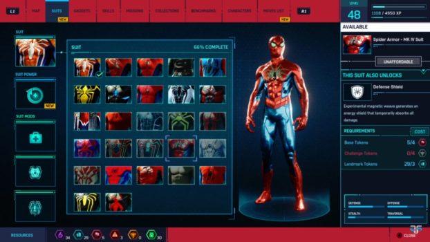 3. Spider Armor - MK IV Suit