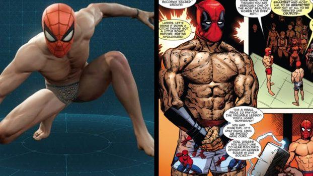 Undies - Spider-Man/Deadpool Vol 1 #4 (2016)