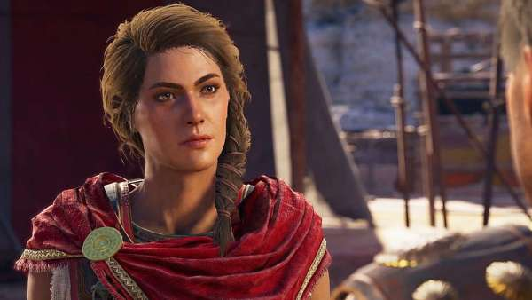 Assassin's Creed Odyssey, best video game characters 2018