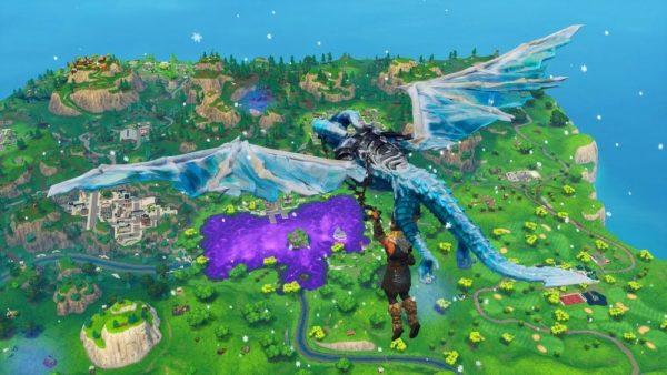 frostwing dragon glider, fortnite
