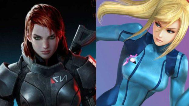 Jennifer Hale as Female Commander Shepard (Mass Effect Series) and Samus Aran (Metroid Series)