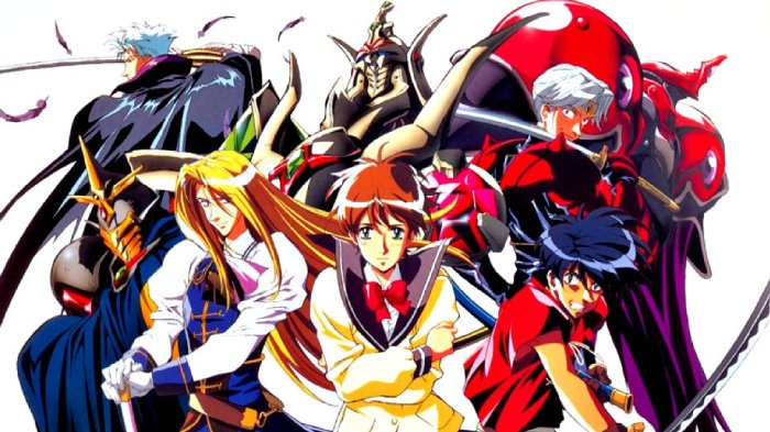 Vision of Escaflowne, Anime Like Inuyasha