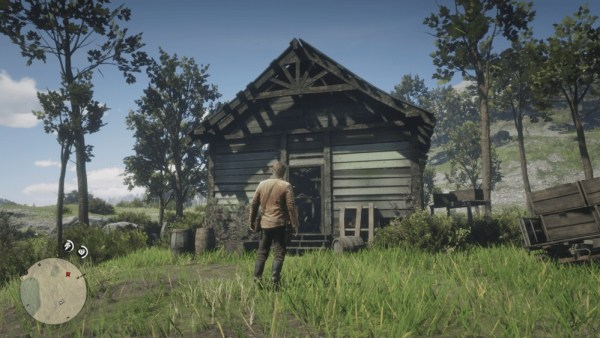 Red Dead Redemption 2 UFO Cabin