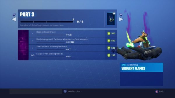 Fortnitemares Challenges Part 3