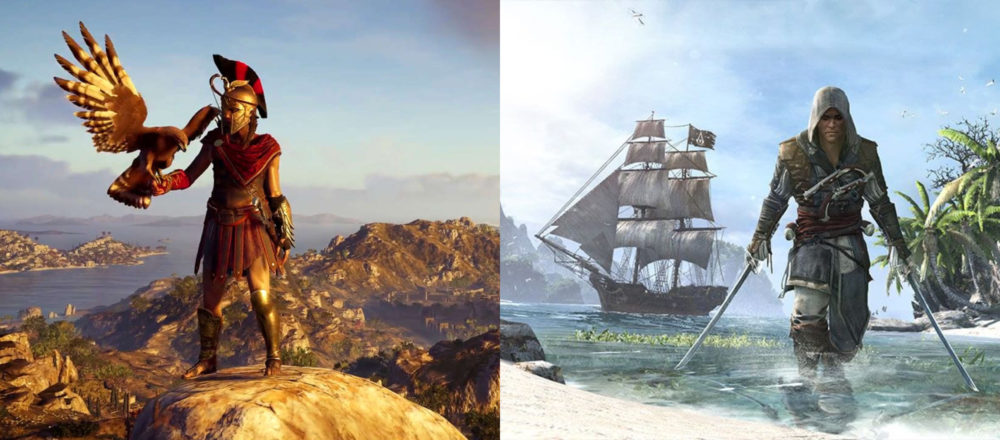 Assassin S Creed Odyssey S Map Compared To 10 Other Games In The