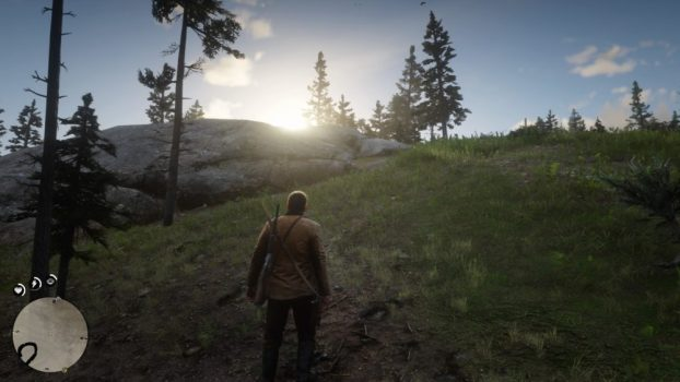How Arthur Moves Depends on the Terrain