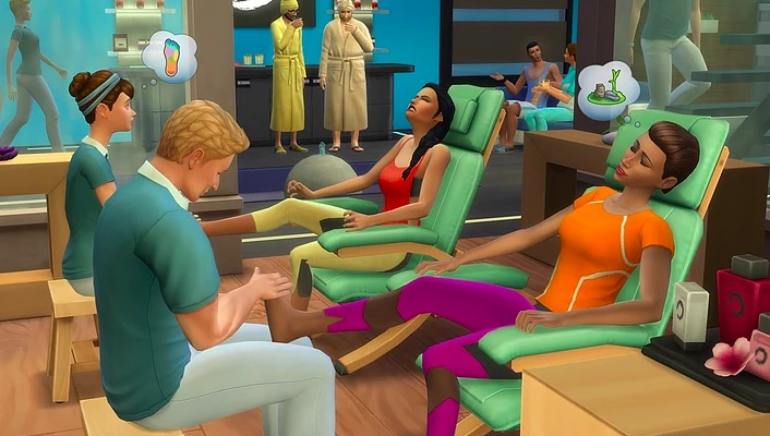 explore mod, the sims 4