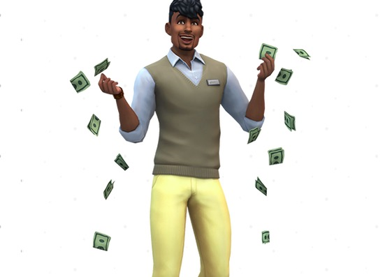 sims 4 mods, bank account