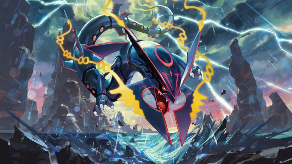 Pokemon Mega Rayquaza