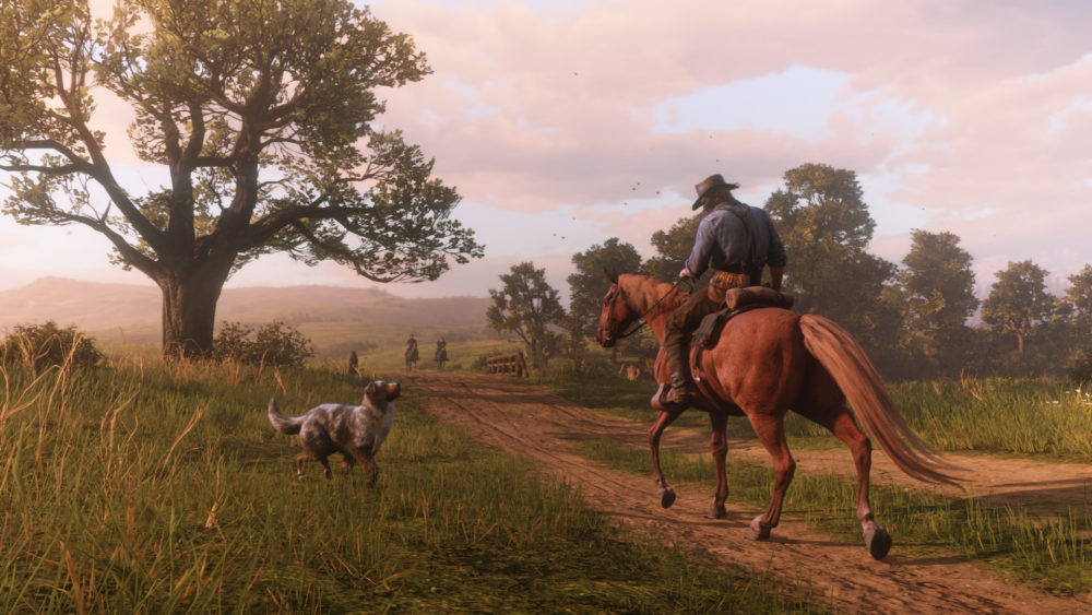 Red Dead Redemption 2, Red Dead, Open World, Dogs, Rockstar, PS4, Xbox One
