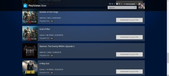 Buy and Download Games Remotely