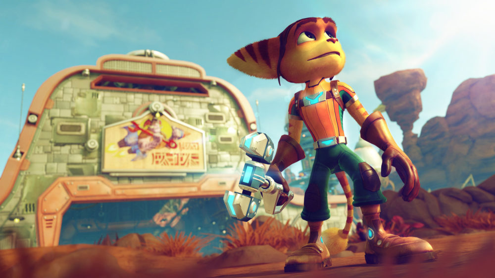 ratchet & clank, Insomniac, PS4, sale, deal, only on playstation, sony, 2016