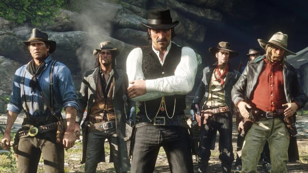 red dead redemption 2, grow hair, beard, epic games store