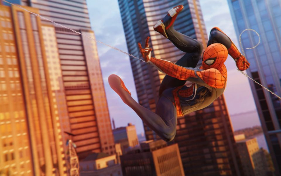 protagonist, spider-man, ps4, sony, insomniac, peter parker, top 10, 2018, protagonists