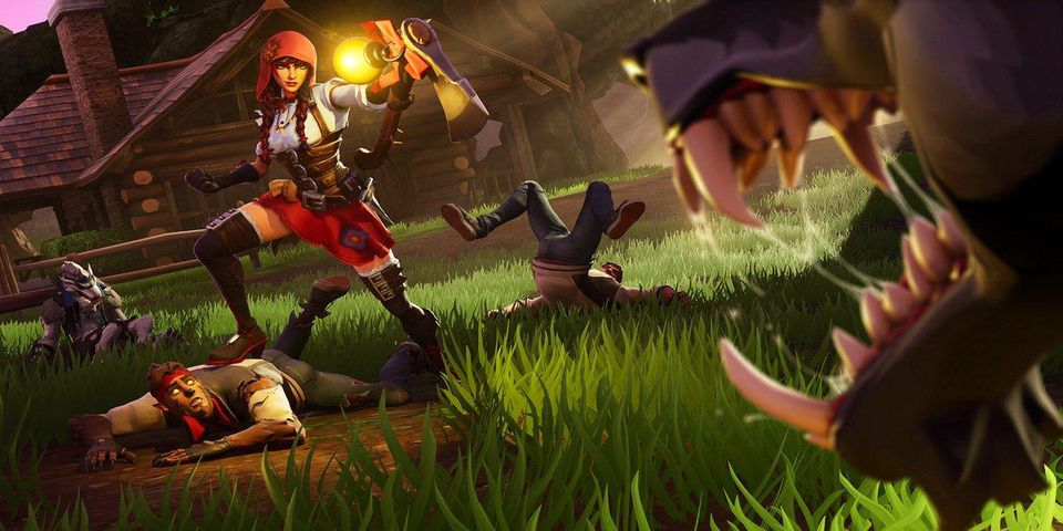 Fortnite is a non-traditional battle royale shooter