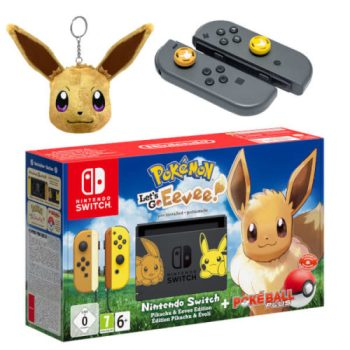 Nintendo Switch Pokemon Let's Go Bundle