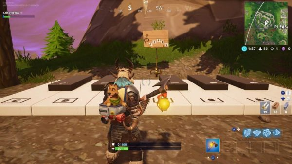 Fallout Pleasant Park Keyboard Location