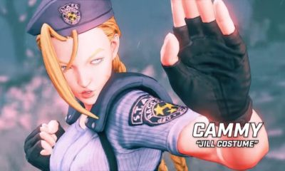 Sreet Fighter V Resident Evil