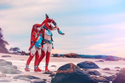 Sidon and Mipha from Zelda: Breath of the Wild