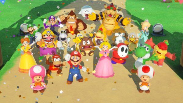 Super Mario Party, 1 million, Sales, US, Nintendo, Thanksgiving, Black Friday, Switch