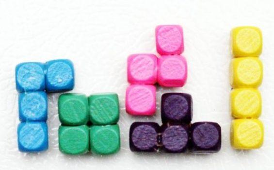 Tetris Fridge Magnet