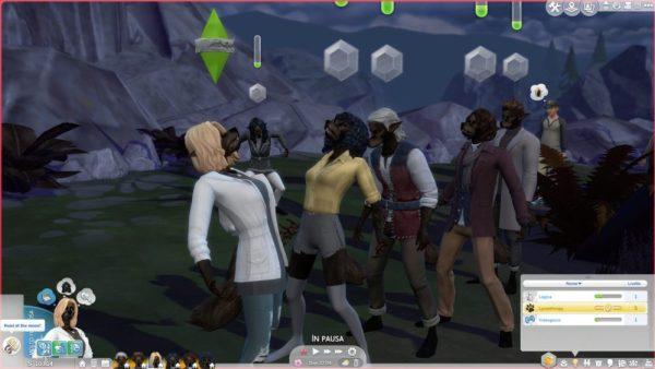 werewolf, mod, sims 4
