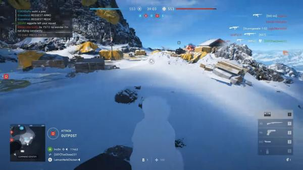 Battlefield V, how to build a snowman