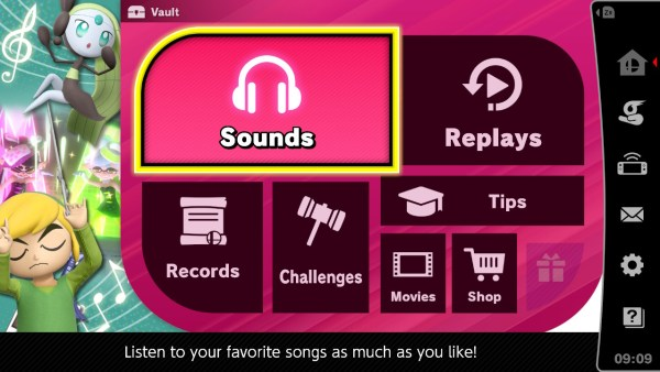 smash bros ultimate, how to get more music tracks, shop location