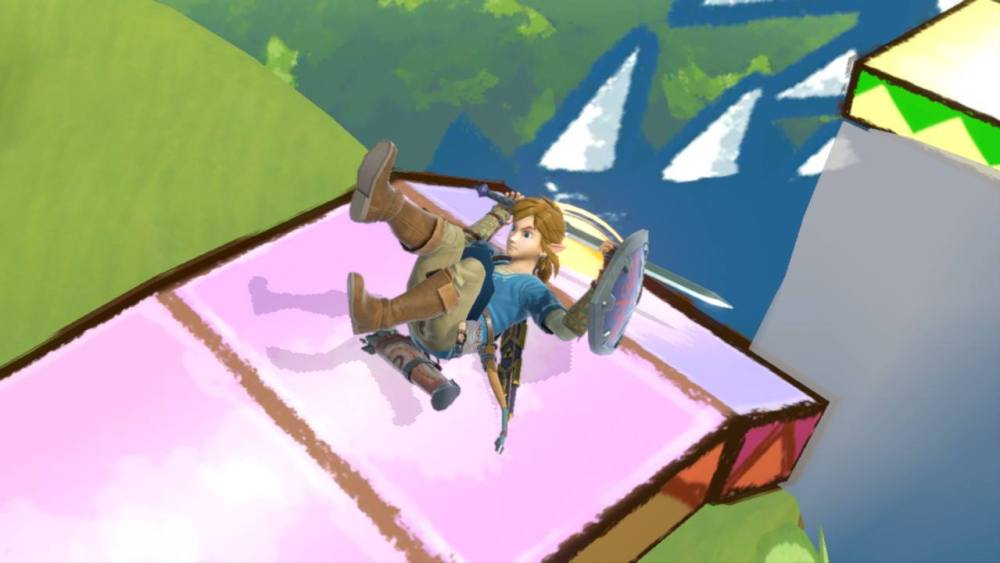 Smash Bros Ultimate Link