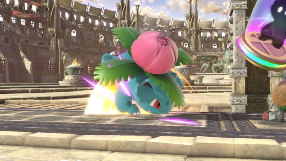 Smash Bros Ultimate Ivysaur