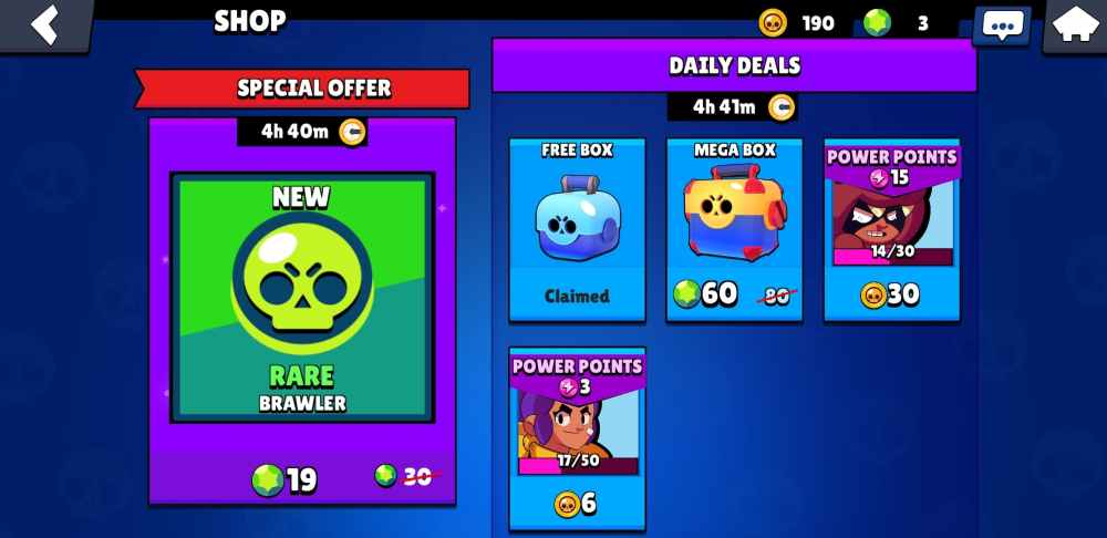 Brawl Stars, how to get gem packs and how much they cost