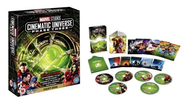 MCU Collector's Edition Box Sets