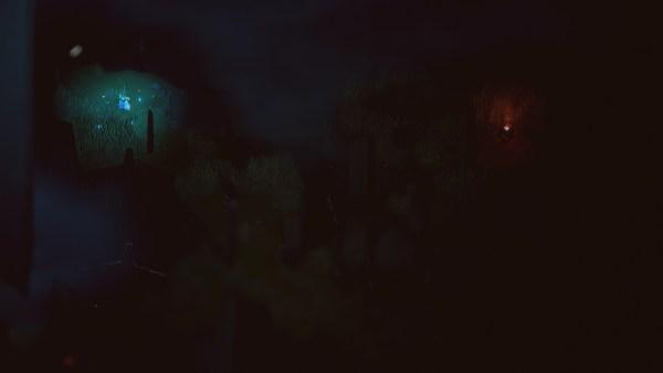 below light shards