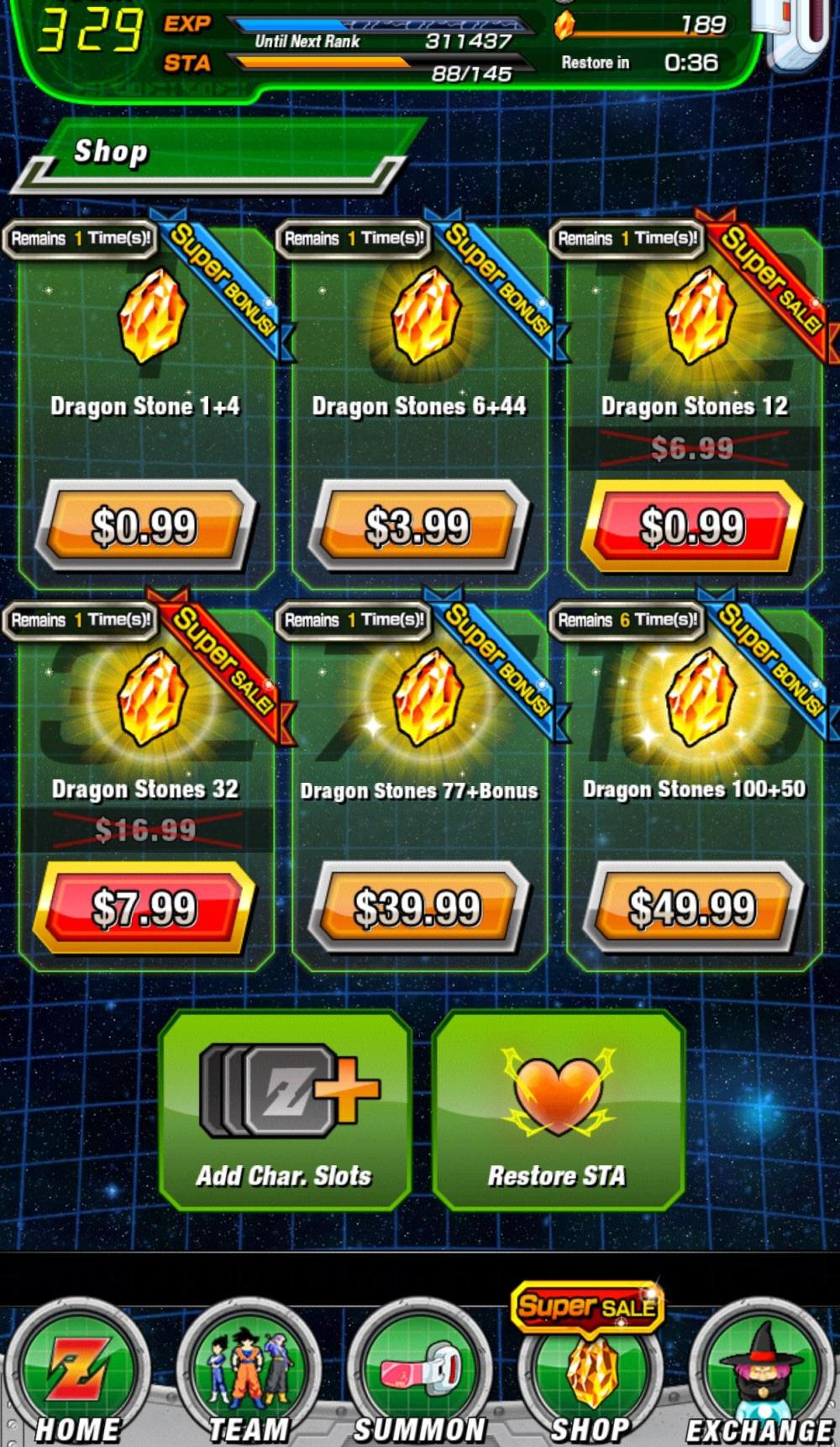 Dokkan Battle: How to Get Dragon Stones