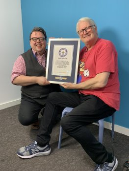 Charles Martinet Guinness World Record