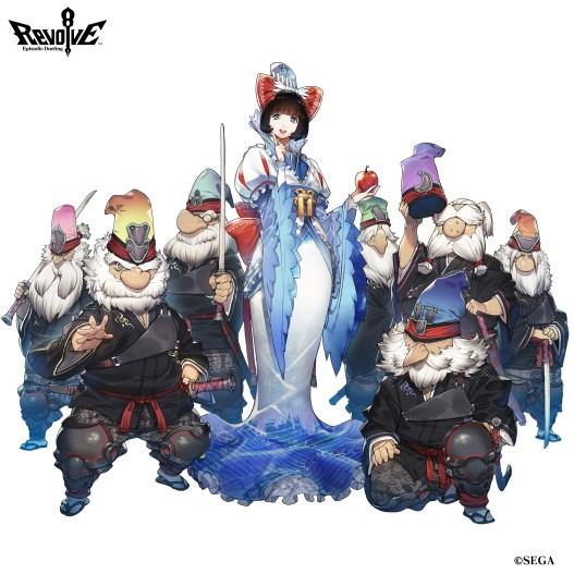 Revolve8, Snow White