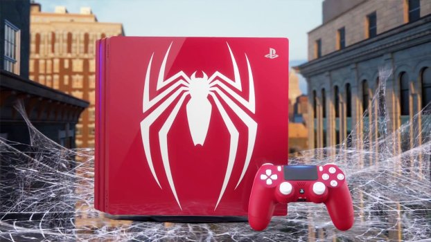 Limited Edition PS4 Pro Spider-Man Bundle