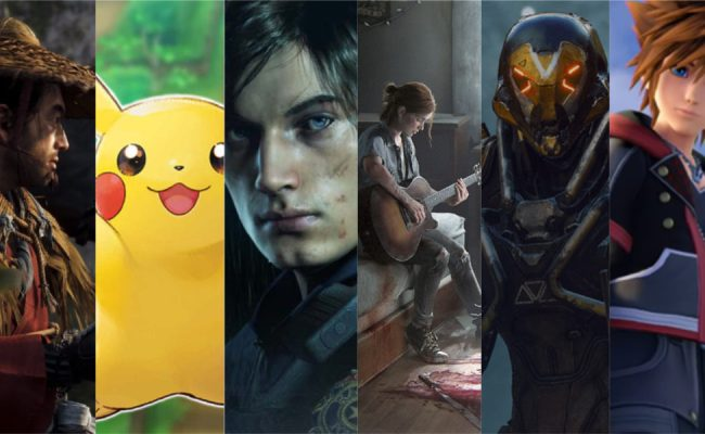 6 Most Anticipated Upcoming Games For 2019