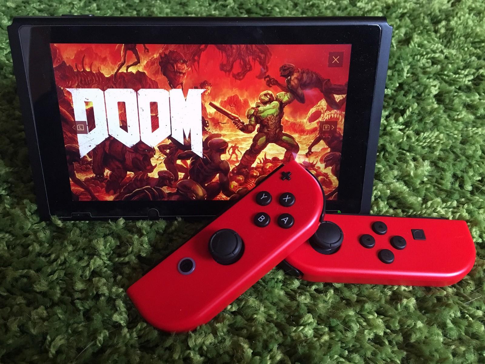 Doom Celebrates 25th Anniversary And Nintendo Switch - Www