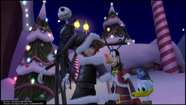 Kingdom Hearts II - Christmas Town