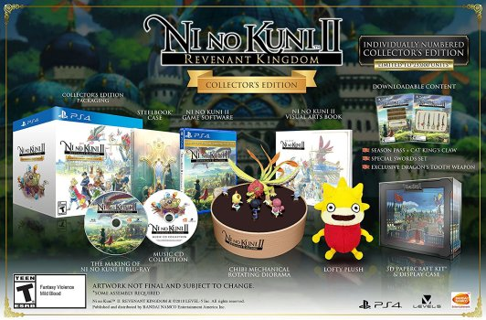Ni No Kuni II Collector's Edition