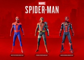 Spider-Man DLC Costumes