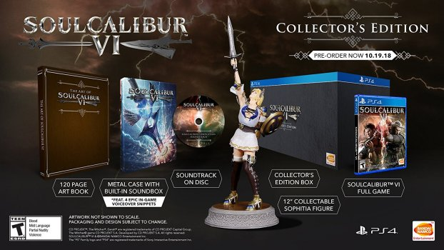 Soul Calibur VI Collector's Edition