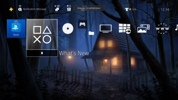 Lone Cabin in the Woods HiQ Dynamic Theme