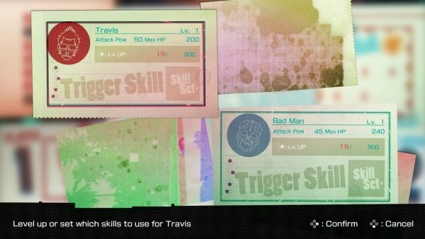 How to Change Skills in Travis Strikes Again